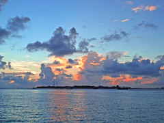 185. So Ends Another Day (Le Dsir De La Couronne) Tags: sunset maldives uniquemaldives simplymaldives indianocean mal ocean sony sky light red orange blue flickr beautiful beautifulshot beauty beautyofnature asia autofocus saarc dsc s3000 dscs3000 horizon december 2012 water world explore end travel island evening niceshot view clouds color dusk
