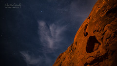Is this the Moon? (Martin Osiadly) Tags: sky moon color colour rot rock stone mos stars photography mond nikon rocks fotografie martin nacht 14 himmel wolke wolken colourful fels blau stein farbe farbig sterne d800 felsen krater langzeitbelichtung 14mm nachthimmel samyang lzb mosphotography osiadly d800e