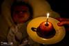 Project 366 - 345/366 Days - 1 mois aujourd'hui (Ant0ineDAVID.net) Tags: baby canon project eos 50mm f18 bébé anniversaire gateau bougie 366 60d antoinedavidnet