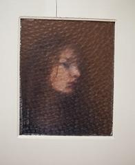 A self-portrait (heddar) Tags: door portrait selfportrait window person ginger redhead throughwindow