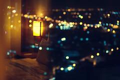 Ho Chi Minh Hotel (Xiangk) Tags: city reflection window night lights hotel view bokeh vietnam chi ho minh saigon hochiminh