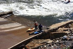 Ocoee Rafters 2 (Mr. Low Notes) Tags: fall river 1996 olympics ocoee rafts quot waterquot quotwhite riverquot quotocoee quot1996