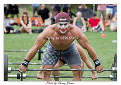 Newcastle Made of Steel Crossfit Challenge_0092-The Joker (DoctorJ73) Tags: bar canon dark newcastle eos james lift cross muscle 7d batman danny joker knight strong weight fit barbell powerclean snatch crossfit