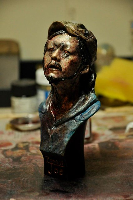 900 Sculptor Studio Zombie JOE
