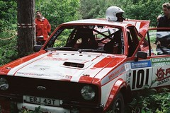 Aftermath - Robinson / Hutchinson - Escort RS MkII - Watchwood 2 - Dukeries Rally 2012 (74Mex) Tags: 2 rally rs robinson escort hutchinson 2012 mkii dukeries watchwood