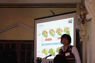One of several delightful presentations on nutrition-related topics by
