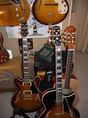 Italian Guitars (Theo K) Tags: italian ibanez giannini musicshop