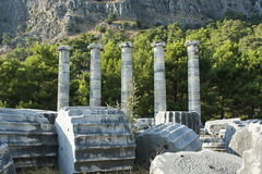 The Temple Of Athena (illetyus / Instagram @illetyus09) Tags: ancient priene greek culture history old temple athena