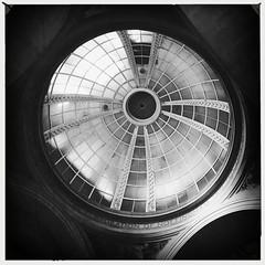 Nottingham Council House (firstnameunknown) Tags: iphoneography hipstamatic blackwhite monochrome nottingham councilhouse cityhall neobaroque building architecture ceiling dome corporationofnottingham nottinghamcorporation thomascecilhowitt