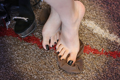 black toenails (Erika Feet) Tags: altos ankle bare clear dedos desnudo ellie exotic fashion feet female fetisch fetish flip flipflop flop foot fuss fsse girl heel heeled heels high hose leg leggins legs mule mules nails nylon nylons nudos open opentoe pantyhose peep peeptoe pie pies plataforma plattform pleaser polish pumps sandal sandalias sandals sexy shiny shoes slides slingback slut sohlen sole soles stiletto stockings strap strappy stripper tacon tacones thong toe toenail toenails toes wear wearing woman zeh zehen