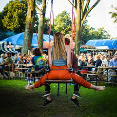 0232-2016- (Theo Olfers) Tags: stphotographia street straat square candid city colour canal amsterdam nl girl urban parade merry go round draaimolen carrousel
