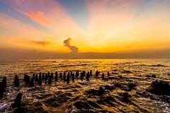 Unique Sunrise In Kelor Island (madi_patub) Tags: nikon nikond7200 tokina tokina1116 sunrise kelor kepulauan seribu jakarta landscape landscapephotography beach