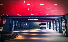 Red Garage - Seattle, Washington (, ) (dlau Photography) Tags: red garage seattle washington          travel tourist vacation visitor people lifestyle life style sightseeing   trip   local   city  urban tour weather     soe romantic  astoundingimage