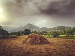 Haystack in Kayaky (VillaRhapsody) Tags: field kayaky fethiye rural summer hot haystack hay harvest