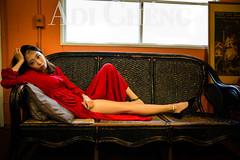 Adi_0048 (Adi Chng) Tags: adichng girl      redgreen