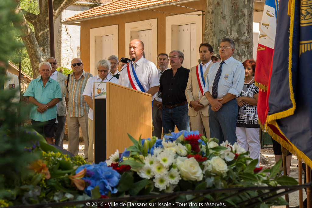 72ème anniversaire de la Libération de Flassans sur Issole