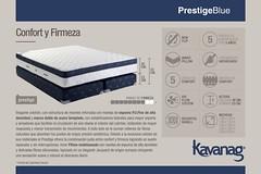 Lnea Blue Collection - Prestige (Kavanag Colchones & Sommiers) Tags: mattress colchon sommier colchones sommiers kavanag espuma resortes dormir soar