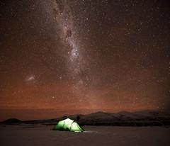 Star camp (danhan27) Tags: nz new zealand astro astrophotography night sky stars light dark milky way camping lake heron
