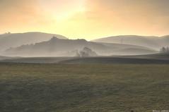 Hazy Sunset (Kevin_Jeffries) Tags: haze mist sunset jeffries fog new nature golden