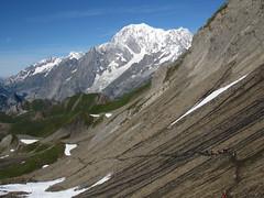 Col malatr 2925 m (mimu81) Tags: valdaosta altavia1 mountains alps alpi trekking hiking italy valferret montebianco montblanc snow white ice glacier