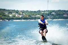 Wakeboarding Action in Lake Travis, Austin (hectorchin1988) Tags: ifttt 500px wakeboarding austin laketravis justforfun action watersport water blue adrenaline canon 5dmarkiii 70200mm f28 actionshot river colorado