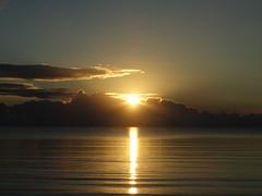 Sonnenaufgang Sunrise am 02.08.2016 (Manuela Vierke) Tags: deutschland germany meckpomm mecklenburgvorpommern insel rgen isle prorerwiek ostsee meer balticsea sonne sun wolke cloud sonnenaufgang sunrise sommer summer august 02082016 02august2016