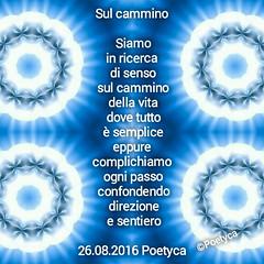 Sul cammino (Poetyca) Tags: featured image immagini e poesie sfumature poetiche poesia