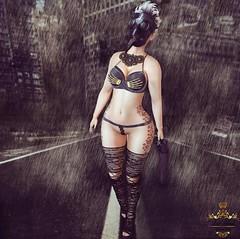 Rainy days (Thyaralove exonar) Tags: bubble cosmopolitanevents dopegrul dura kinkyevent moderncouture promagic reelposes reign tattomania reignbloggersearch2016