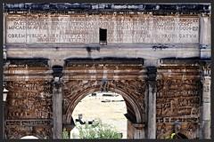 Arco di Settimio Severo. (GiannLui) Tags: arco settimio severo roma foriimperiali arcoditrionfo settimiosevero arcodisettimiosevero