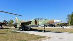 Mikoyan-Gurevich Mig.23UB c/n A1037621 Bulgarian Air Force serial 021 (sirgunho) Tags: aviation museum    plovdov bulgaria mikoyangurevich mig23ub cn a1037621 bulgarian air force serial 021 mig 23