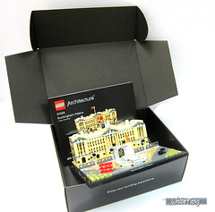 Everything can be re-packed into the LEGO Architecture box (WhiteFang (Eurobricks)) Tags: lego architecture set landmark country buckingham palace victoria elizabeth royal royalty family crown jewel imperial statue tourist united kingdom uk micro bus taxi