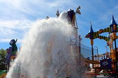 Sesame Place: Count's Splash Castle (wallyg) Tags: amusementpark buckscounty countssplashcastle langhorne pennsylvania sesameplace sesamestreet themepark