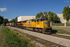 CSX K219-19 at Cartersville (travisnewman100) Tags: csx train freight unit phosphate union pacific kansas city southern de mexico kcsdm up emd sd70m sd70ace wa subdivision atlanta division k219 k21919 owa 477 milepost