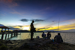Happy Malaysia Day 2016 (<Pirate>) Tags: malaysia day 2016 sunset batu musang jetty kawan seascapes laandscapes low tide anglers friend canon 1018 is stm ray master soft gnd 9
