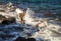 Shore (lyrks63) Tags: mandraki le island kos greece grec sun summer village grecque grce shore ctes rivage cte waves wave vague sea