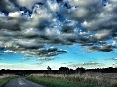 Every cloud has a silver lining (debbyeastwood) Tags: weather dark rain night earth blue sky cloud