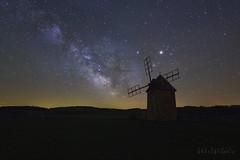 Le moulin d'Ally (Bob Guedin) Tags: voie lactee milky way ally moulin long exposure pose longue nightscape