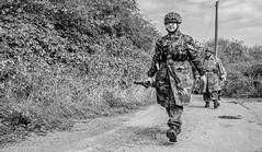 FJR5-15 (Andy Darby) Tags: bosworthfjr5 bosworth battlefield railway battlefieldrailway fjr5 fallschirmjager german reenactment uniform k98 mg42 ppsh41 marching war andydarby
