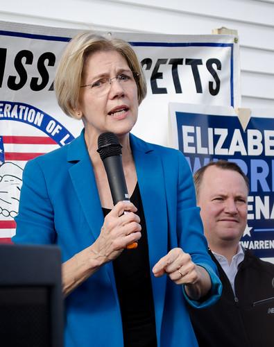 Elizabeth Warren and Tim Murray