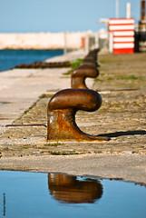 C C C C C C (Andrea_Federici) Tags: red sea harbor mare porto pesaro marche righe riflesso linee andreafederici