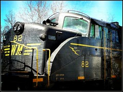 West Virginia ~ Belington (e r j k . a m e r j k a) Tags: train vintage engine westvirginia locomotive barbour belington us250 erjkprunczyk