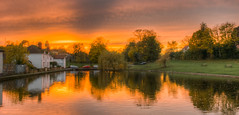 315/366 A Quick Sunset (Mark Seton) Tags: uk sunset england english town flickr places creativecommons miscellaneous markettown essex dailyphoto hdr highdynamicrange pictureaday englishtown photomatix digitalcameraclub project365 greatdunmow dunmow dailyphotograph uttlesford countyofessex flickriver project365315 doctorspond markseton project365101112