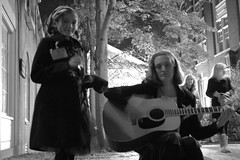 077 (mynameisntmediumcoffee) Tags: halloween child guitar spirit massachusetts ghost haunted streetperformer salem 2012