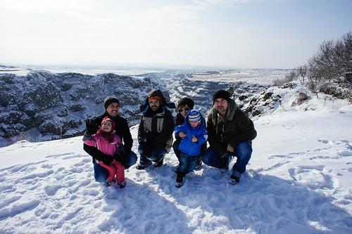 At Saghmosavank monastery