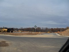 New shopping center, under construction, in Clarksburg, Montgomery County, Maryland, USA. (sebypires) Tags: county new city urban usa station retail mall shopping dc washington store big md construction community cookie village suburban teeter suburbia progress maryland center supermarket gas neighborhood hills growth commercial strip area suburbs suburb montgomery harris grocery gasoline sprawl arora residential development cutter metropolitan overdue planned mcmansion suburbanization subdivision urbanization unincorporated clarksburg mcmansions urbanized neccesary suburbanized