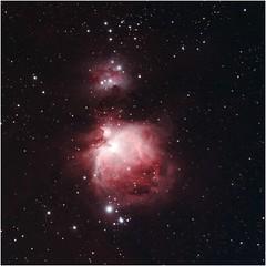 The 'Great Nebula', M42 in Orion (crowlem) Tags: Astrometrydotnet:status=solved Astrometrydotnet:version=14400 Astrometrydotnet:id=alpha20121170095901