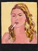 # 2164 smoke (h e r m a n) Tags: portrait art girl painting kunst smoke schilderij smoking herman smoker rook portret meisje roker roken