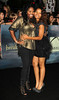 Shar Jackson and Guest at the premiere of 'The Twilight Saga: Breaking Dawn - Part 2' at Nokia Theatre L.A. Live. Los Angeles, California