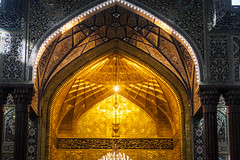 Imam Hussain A.S Gate (Hussain Isa) Tags: shrine muslim islam iraq prayer pray shia karbala masjid hussain   islamicgroup