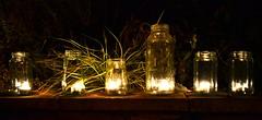 Divali Mubarak (Harbs and his snaps) Tags: decorations night lights candles tealights nighttime diwali jars deepavali divali
